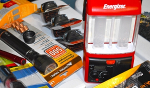 Preparing a bug out bag required having flashlights and batteries