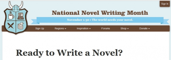 Write a Novel in 30 days with NaNoWriMo 2017